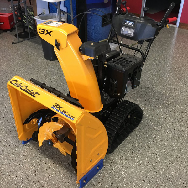 Cub Cadet Snow Blowers, Loftness Shredders, Yamaha Generators, Miscellaneous Equipment